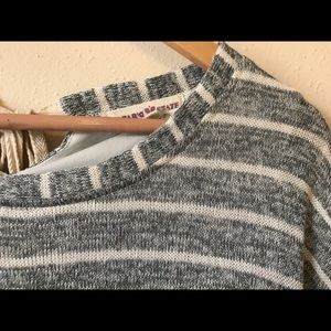 Altar'd State Sweaters - Altar'd State Striped Tiered Sweater